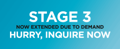 Stage 3 now extended due to demand. Hurry, inquire now